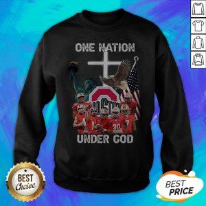 Ohio State Buckeyes One Nation Under God Sweatshirt