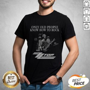 Only Old People Know How To Rock ZZ Top Signatures T-Shirt