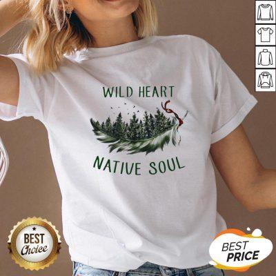 Perfect Wild Heart Native Soul V-neck