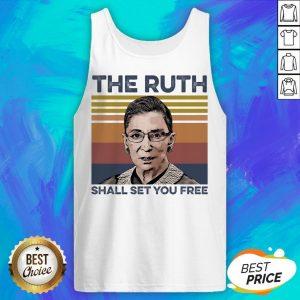 Pretty RBG The Ruth Shall Set You Free Tank Top