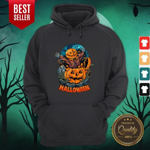 Sack Headed Human Comes Out Halloween Hoodie