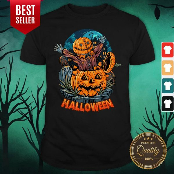 Sack Headed Human Comes Out Halloween Shirt