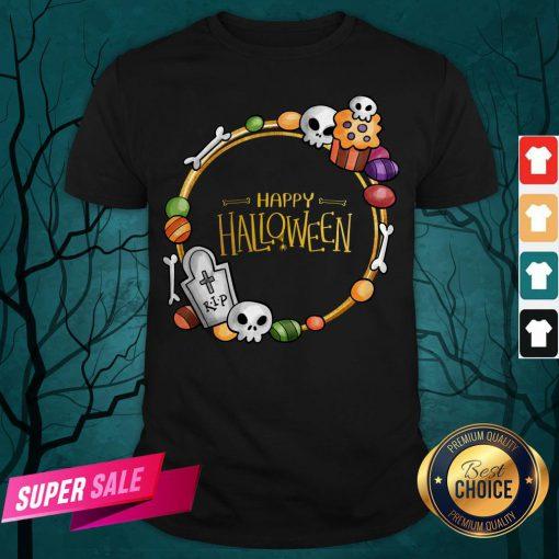Skull Day Dead Happy Halloween Shirt
