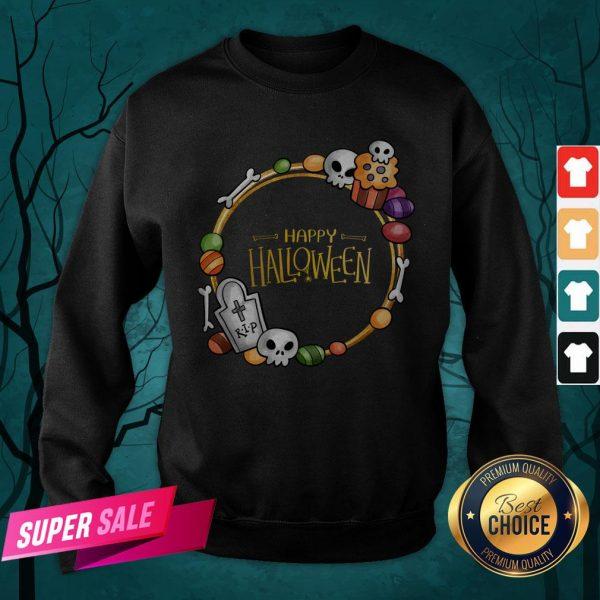 Skull Day Dead Happy Halloween Sweatshirt