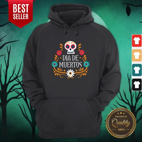 Skull Day Of The Dead Mexican Holiday Hoodie