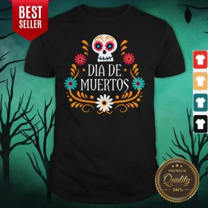 Skull Day Of The Dead Mexican Holiday Shirt