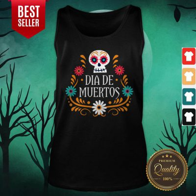 Skull Day Of The Dead Mexican Holiday Tank Top