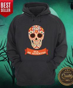 Sugar Dead Dia De Muertos Hoodie - Design By Earstees.com