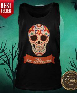 Sugar Dead Dia De Muertos Tank top - Design By Earstees.com