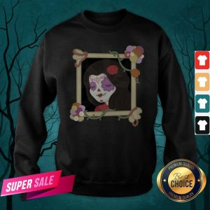 Sugar Skull Girl Beautiful Day Of The Dead Dia De Muertos Sweatshirt