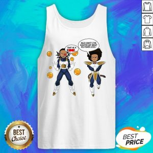 That The A Biech Riley What's The Scouter Say About His Power Level Tank Top