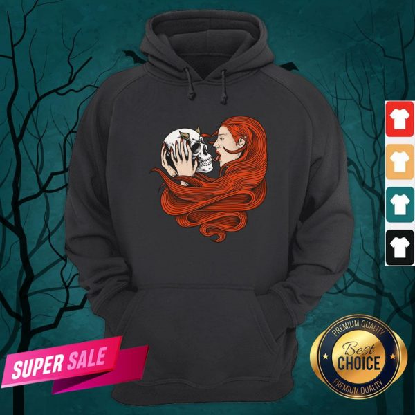 The Girl With Sugar Skull Day Of Dead Hoodie
