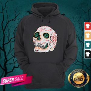 The Mexican Sugar Skull Day Of Dead Hoodie