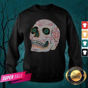 The Mexican Sugar Skull Day Of Dead Sweatshirt