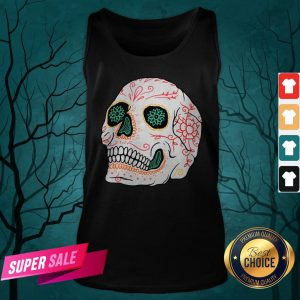 The Mexican Sugar Skull Day Of Dead Tank Top