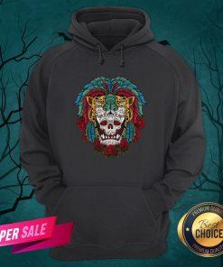 The Mexico Holiday Sugar Skull Dia De Muertos Day Dead Hoodie