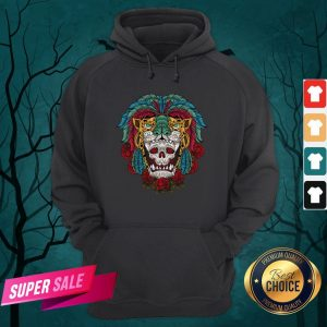 The Mexico Holiday Sugar Skull Dia De Muertos Day Dead Hoodie