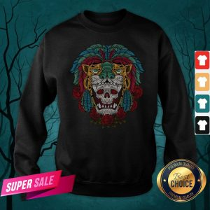 The Mexico Holiday Sugar Skull Dia De Muertos Day Dead Sweatshirt