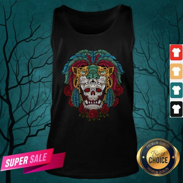The Mexico Holiday Sugar Skull Dia De Muertos Day Dead Tank Top