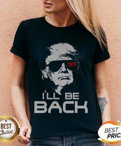 Top Trump 2020 I'll Be Back V-neck