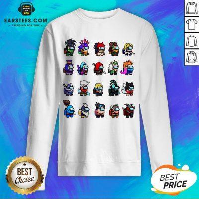 Among Us X League Of Legends Games Sweatshirt - Design By Earstees.com