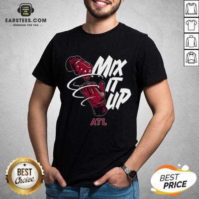 Atlanta Braves Baseball Mix It Up Atl Shirt - Design By Earstees.com