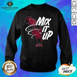 Atlanta Braves Baseball Mix It Up Atl Sweatshirt - Design By Earstees.com