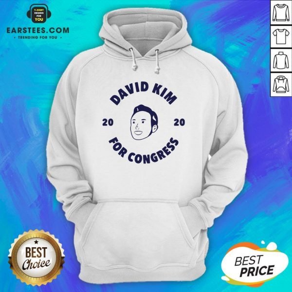 Awesome David Kim 2020 For Congress Hoodie - Design By Earstees.com