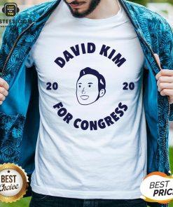 Awesome David Kim 2020 For Congress Shirt - Design By Earstees.com