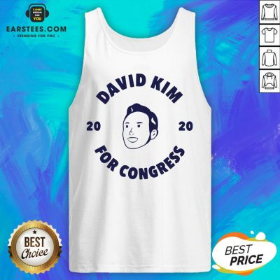 Awesome David Kim 2020 For Congress Tank Top - Design By Earstees.com