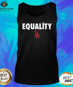 Awesome Equality Los Angeles LA Tank Top - Design By Earstees.com