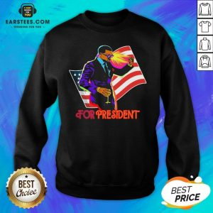 Awesome Joe Biden For President American Flag Election Sweatshirt - Design By Earstees.com