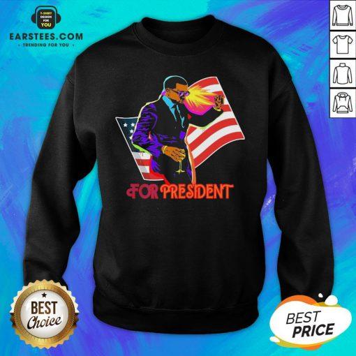 Awesome Joe Biden For President American Flag Election Sweatshirt - Design By Earstees.com