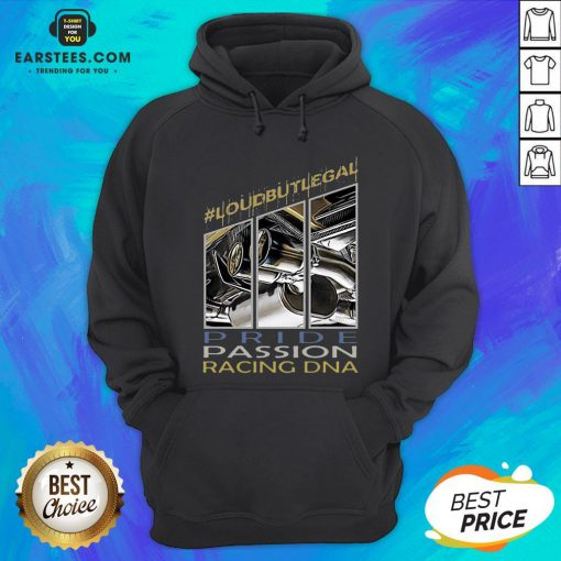 Awesome Loubutlegal Pride Passion Racing DNA Hoodie - Design By Earstees.com
