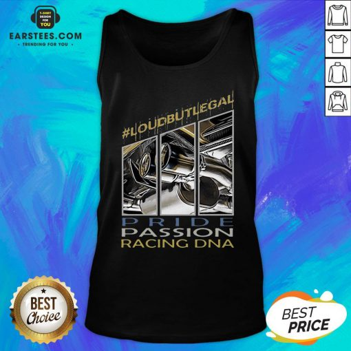 Awesome Loubutlegal Pride Passion Racing DNA Tank Top - Design By Earstees.com
