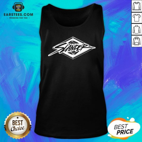 Awesome Slander Merch Big Cartel Diamond Tank Top - Design By Earstees.com