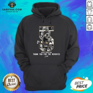 Deryk Engelland Thank You For The Memories Signature Hoodie - Design By Earstees.com
