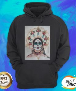 Dia De Los Muertos Day Of The Dead Sugar Skull Premium Scoop Hoodie