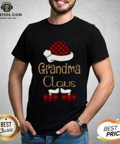 Funny Grandma Claus Christmas Shirt - Design By Earstees.com
