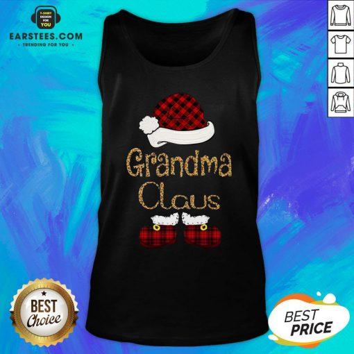 Funny Grandma Claus Christmas Tank Top - Design By Earstees.com