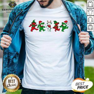 Funny Grateful Dead Bear Christmas Shirt - Design By Earstees.com