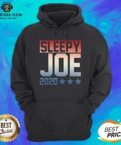Funny Sleepy Joe Election Pro Trump 2020 Hoodie - Design By Earstees.com