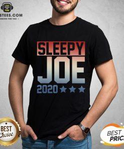 Funny Sleepy Joe Election Pro Trump 2020 T-Shirt - Design By Earstees.com