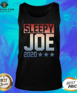 Funny Sleepy Joe Election Pro Trump 2020 Tank Top - Design By Earstees.com