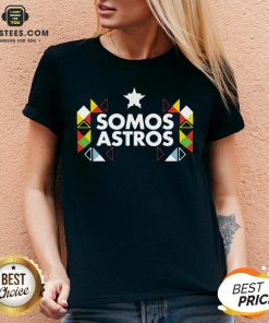 Funny Somos Astros V-neck- Design By Earstees.com