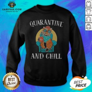 Good Cat Quarantine And Chill 2020 Sweatshirt - Design By Earstees.com