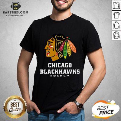 Good Logo NHL Chicago Blackhawks Hockey T-Shirt - Design By Earstees.com