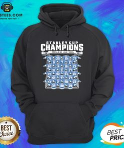 Good Tampa Bay Lightning 2020 Stanley Cup Champions Roster Hoodie - Design By Earstees.com