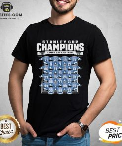 Good Tampa Bay Lightning 2020 Stanley Cup Champions Roster Shirt - Design By Earstees.com