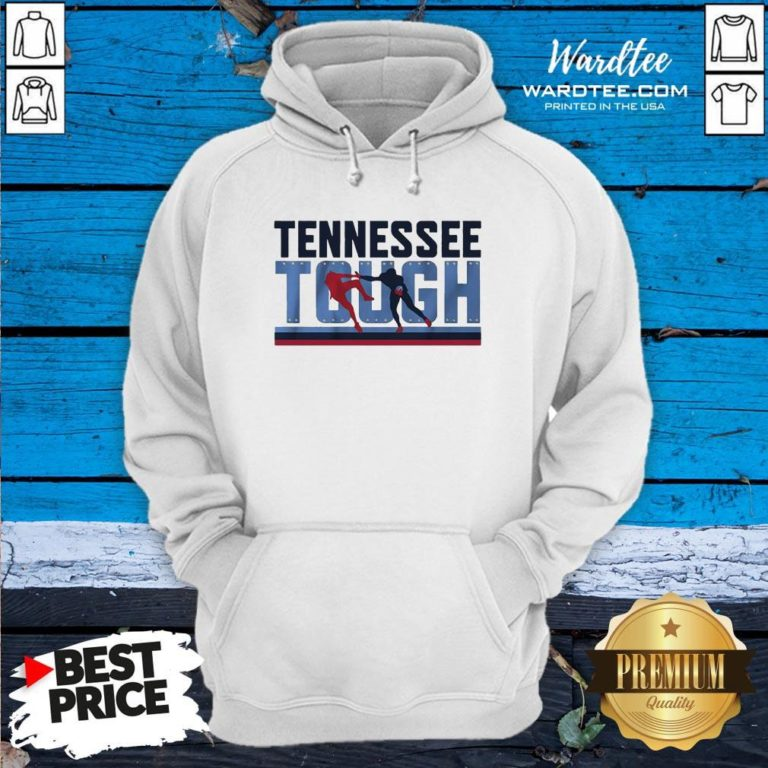 Good Tennessee Tough Nashville Football Hoodie - Design By Earstees